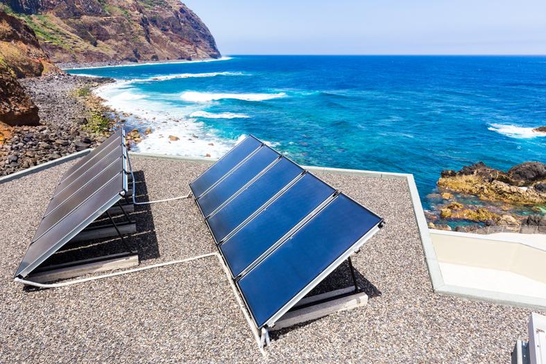 Energies renouvelables panneaux solaires